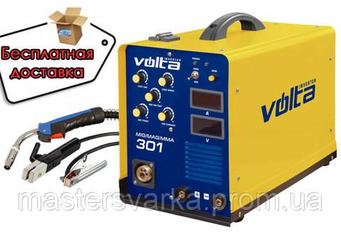 Сварочный инверторный полуавтомат VOLTA MIG/MAG/MMA 301
