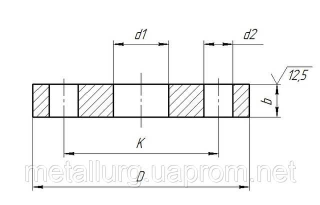 Фланцы плоские DIN 2576
