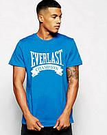 Трикотажная футболка с принтом эверласт,everlast
