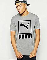 Модная футболка мужская с принтом пума,puma