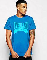 Мужская футболка с принтом эверласт,everlast