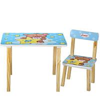 Детский стол со стульчиками  Мишка, фото 1