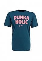 Мужская стильная футболка c принтом DUNKA HOLIC