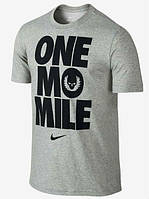 Мужская футболка с принтом найк,Nike  ONE MO MILE