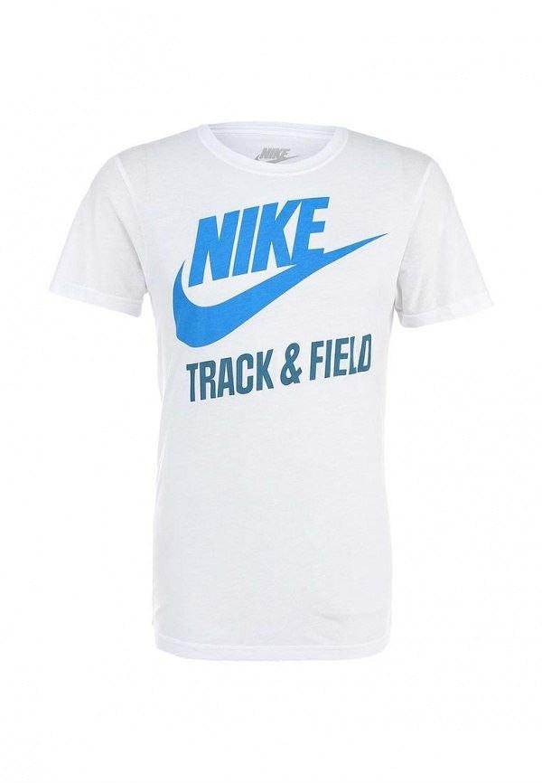 Стильная футболка с принтом белая NIKE