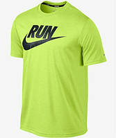 Яркая футболка с принтом найк,Nike RUN