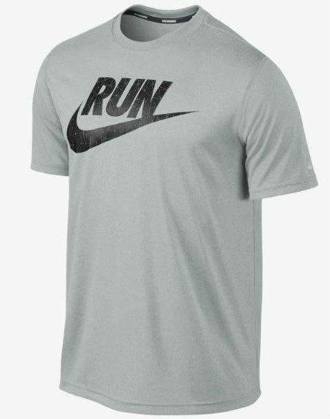 Модная футболка с принтом найк,Nike RUN