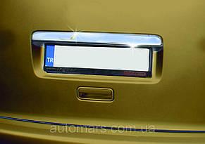 Накладка на дверь багажника VW Caddy 2010+ (Ляда)