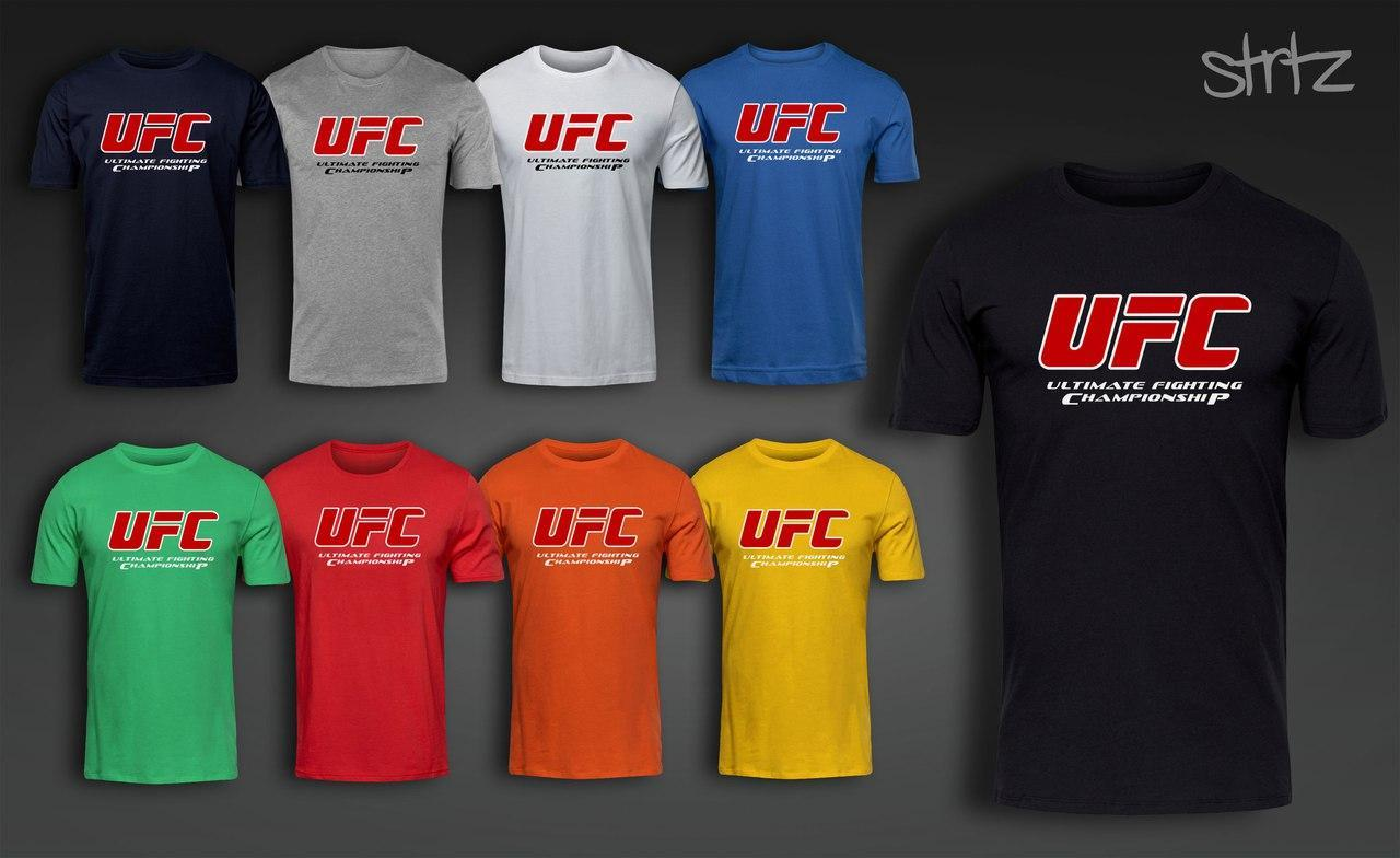 Футболка мужская ЮФС, футболка UFC