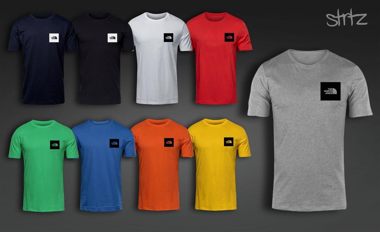 Стильная футболка The North Face