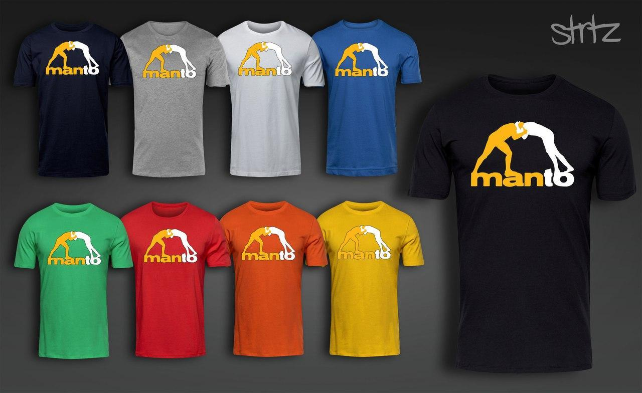 Футболка спортивная манто, футболка Manto