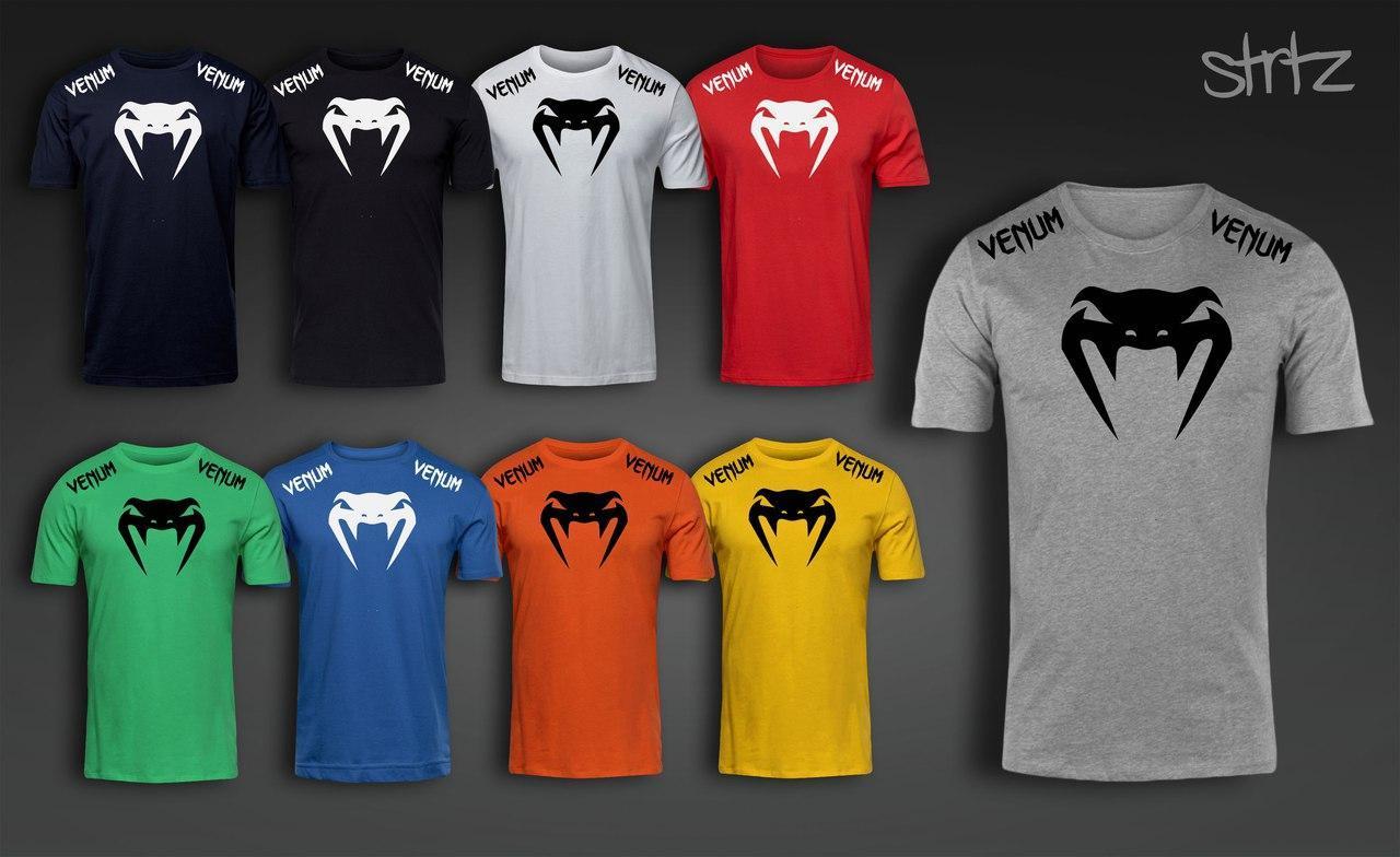 Спортивная футболка венум, футболка Venum