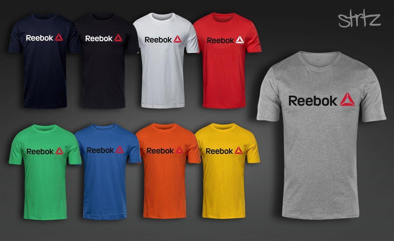 Модная футболка рибок, футболка Reebok