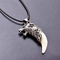 Кулон Клык волка (зуб волка, волчий клык)