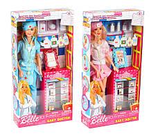 Кукла барби доктор, медсестра, шарнирная, в коробке. 30 см. JX100-46