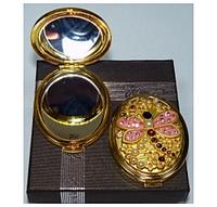 Зеркальце двухстороннее в коробочке