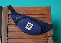 Молодежная сумка на пояс,бананка адидас,adidas