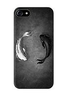 Чехол *Инь-Янь* пластик Soft-touch для IPhone 7