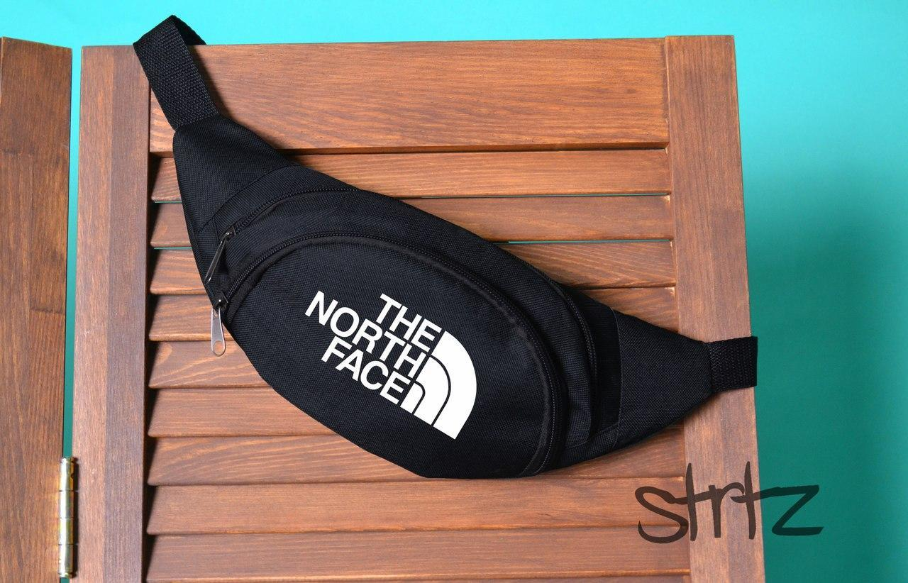 Модная поясная сумка,бананка The North Face