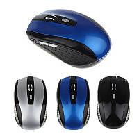 Портативная 2.4 Г беспроводная оптическая мышь. Для компьютера, PC, ноутбука, Gamer JAN12., фото 1