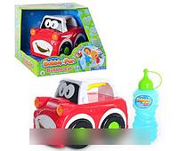 Детская игрушка M 2098 Машинка для выдувания пузырей