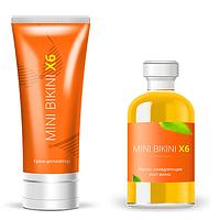 Крем и масло для депиляции Mini Bikini X6 (Мини Бикини Х6)