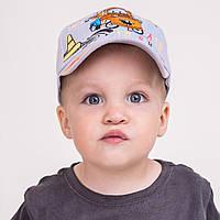 Кепка для мальчика из льна от производителя - 100% хлопок - Б51