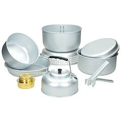 Набор алюминиевой посуды с горелкой MilTec 14700500