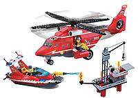 Конструктор Пожарная тревога, Команда спасателей 404 детали Brick 905 SR