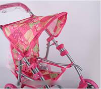 Baby Tilly Коляска для куклы серия Маша и Медведь розового цвета