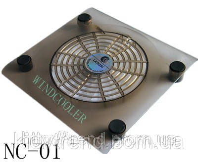 Охлаждающая подставка для ноутбука с большим кулером и подсветкой