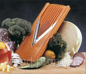Немецкая оранжевая терка Borner V-образная  Классика Оптима оранжевая 5 предметов в комплекте