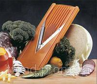 Немецкая оранжевая терка Borner V-образная  Классика Оптима оранжевая 5 предметов в комплекте, фото 1