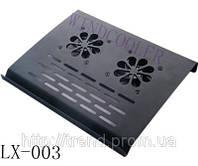 Металлическая охлаждающая подставка для ноутбука