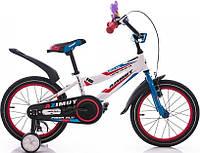 """Детский двухколесный велосипед """"Azimut Fiber""""  Азимут Файбер 14 дюймов"""