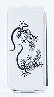 Флип-чехол Florence Samsung Galaxy A3/A300  lizzard white