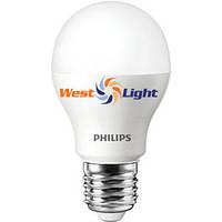 Philips светодиодная лампа LEDBulb 10-70W E27 3000K 230V A55, CorePro LEDBulb 8-60W E27 830