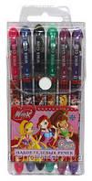 Ручки гелевые в блистере Винкс, 6 цветов в наборе