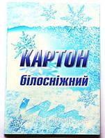 """Картон белый  А4 10 листов """"Белоснежка"""""""