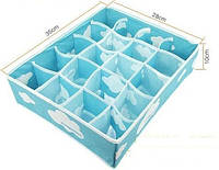 Набор коробочек для хранения белья, рукоделия, галстуков, носков
