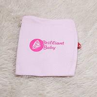 """Шапочка для новорожденных """"Brilliant"""" (розовая)"""