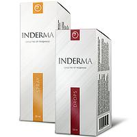 Средство от псориаза INDERMA (капли и спрей)