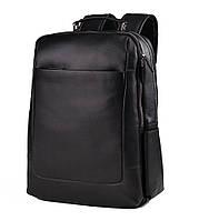Рюкзак кожаный Tiding Bag B3-1631A черный