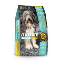 Корм Nutram I20 Ideal Solution Support Skin Coat Stomach для собак с чувствительным желудком, 13,6 кг