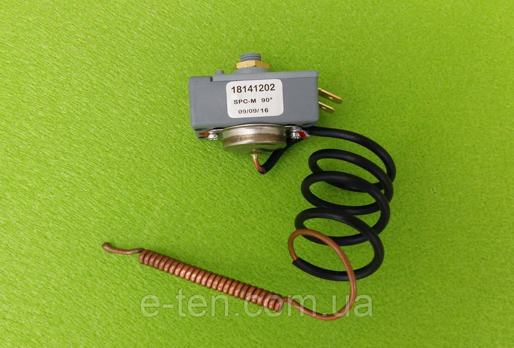 Термостат аварийный защитный капиллярный THERMOWATT SPC-M 16А (18141202) / T=90°С / 250V   Италия