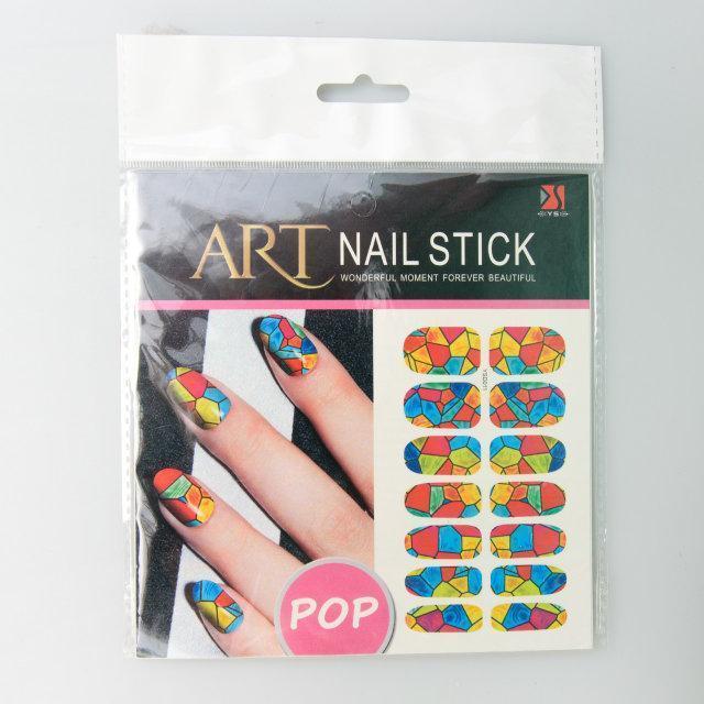 Слайдер для дизайна ногтей, в ассортименте