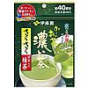 Японский зеленый пудровый чай Маття