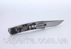 Нож многоцелевой Ganzo (черный, зеленый, камуфляж) G7361-BK, фото 3
