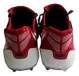 Бутсы (копы) Dugana черно-красные, фото 8