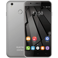 "Смартфон Oukitel U7 Plus Gray 2/16 Gb, 5.5"", MT6737, 3G"